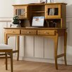 dCor design Mezzanego Writing Desk with Closet
