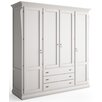 dCor design Mezzanego 4 Door Wardrobe