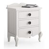 dCor design Ferrere 3 Drawer Bedside Table