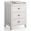 dCor design Nebida 3 Drawer Bedside Table