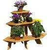 dCor design Fünfeckig Blumentreppe Eckelement