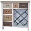 dCor design Chest of Drawers with Wine Rack