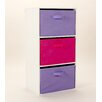 dCor design Oneta 3 Drawer Chest of Drawers