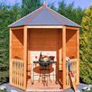 dCor design 7 x 6 Wooden Shed