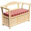 dCor design 2-Sitzer Friesenbank mit Kissenbox und Sitzauflage
