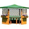 dCor design 211 cm x 309 cm rund Pavillon Marburg ohne Möbel