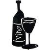 Lazart Bottle of Vino Wall Decor