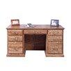 Forest Designs Executive Desk with Corner Drawer