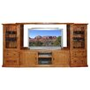 """Forest Designs Mission 36"""" Piers and Entertainment Center"""