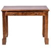 Forest Designs Shaker Writing Desk with Knob Drawer
