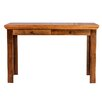 Forest Designs Writing Desk with Knob Drawer