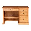"""Forest Designs 66"""" W Writing Desk with Pencil Drawer"""