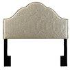 Pulaski Furniture Glam Upholstered Arch Headboard