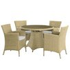 Aspect Design Luxury 4 Seater Dining Set with Cushions