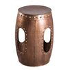Urban Designs Rivet Barrel Stool