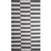Urban Designs Broken Hand-Woven Charcoal Area Rug