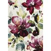 Urban Designs King William Cream/Purple Area Rug