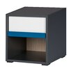 Urban Designs Ikar 1 Drawer Bedside Table