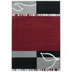 Urban Designs Tempo Red Area Rug