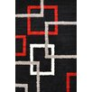 Urban Designs Classic Black Area Rug