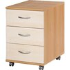 Urban Designs Power 3 Drawer Mobile File