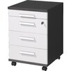Urban Designs Linea 4 Drawer Mobile File