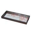 Urban Designs 68.5 cm Mirror Serving Tray with Aged Finish