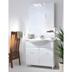 Urban Designs Viva 75cm Vanity Unit with Mirror and Tap
