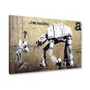 "Urban Designs Wandbild ""I am your Father"" von Banksy, Grafikdruck"