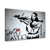 Urban Designs Banksy Bazooka Wall Art
