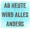 All Home Wandbild Anders - 30 x 30 cm