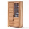 CleverFurn Solid Beech Heartwood Display Cabinet