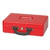 CleverFurn Key Lock Cash Box with Euro Coin Tray