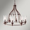Energo 8 Light Candle Chandelier