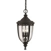 Energo English Bridle 3 Light Pendant Light
