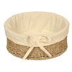 Wicker Valley Round Lined Basket