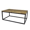 Castleton Home Coffee table made of oak wood