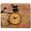 Castleton Home Temponaut Box with Folding Clock
