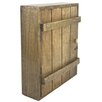 Castleton Home Wooden Wall Mounted Key Box