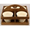 Castleton Home 4 Piece Round Planter Set