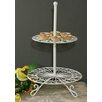 Castleton Home 2 Tier Scrolled Wire Cake Stand