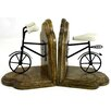Castleton Home Vintage Bicycle Book End (Set of 2)