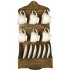 Castleton Home Wooden Wall Rack
