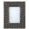 Castleton Home Rustic Carved Wooden Picture Frame