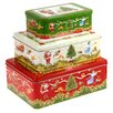 Castleton Home 3-tlg. Keksdosen-Set Weihnachten