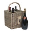 Castleton Home 4 Bottle Basket