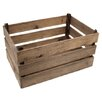 Castleton Home Rustic Wood Crate