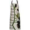 Castleton Home Schürze Olive aus Baumwolle