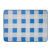 Castleton Home Roanne Gingham Blue Area Rug