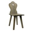 Castleton Home Chair with heart notch